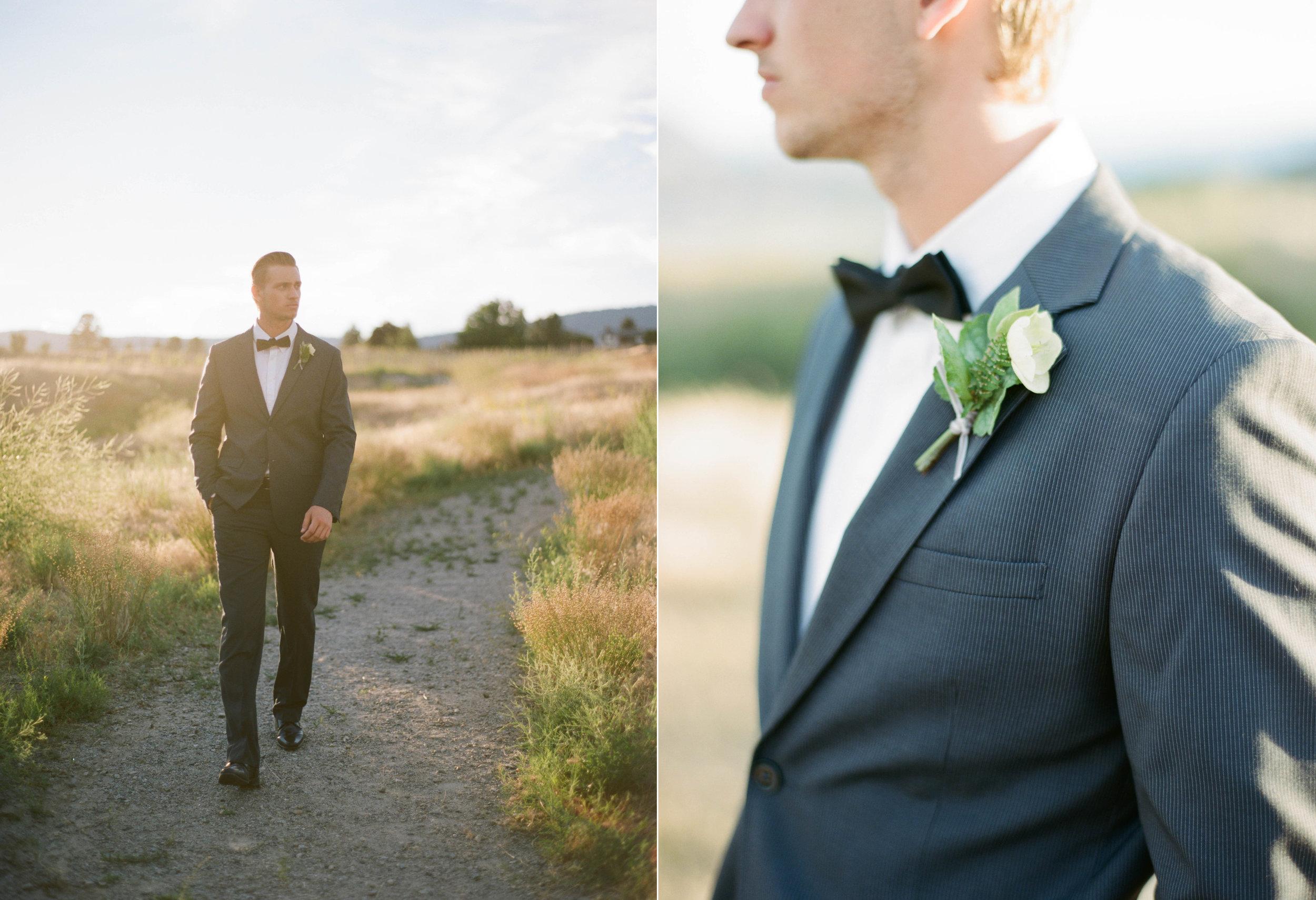Penticton Summer Wedding Groom Boutonniere.jpg