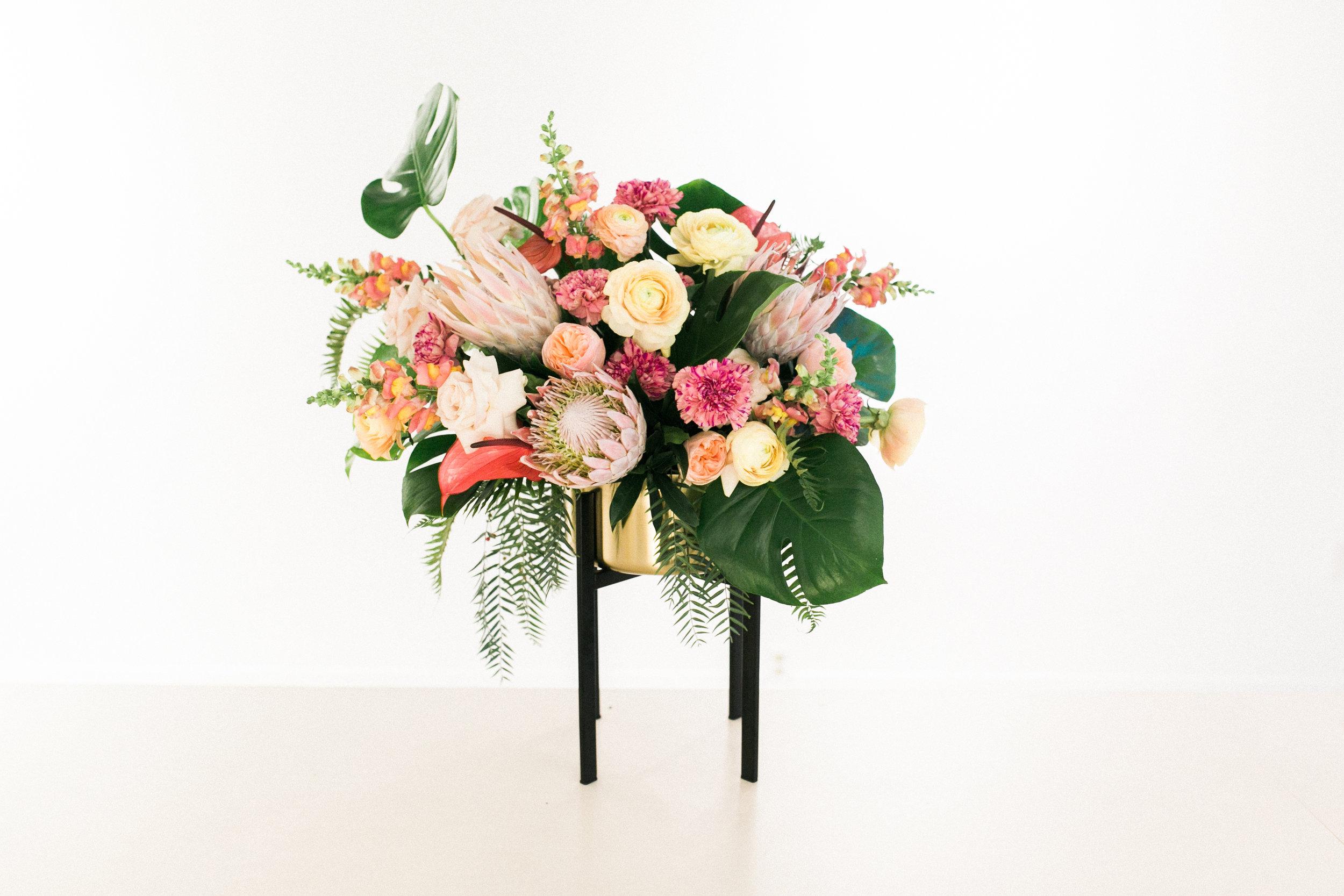 Tropical Floral Arrangement Penticton Florist