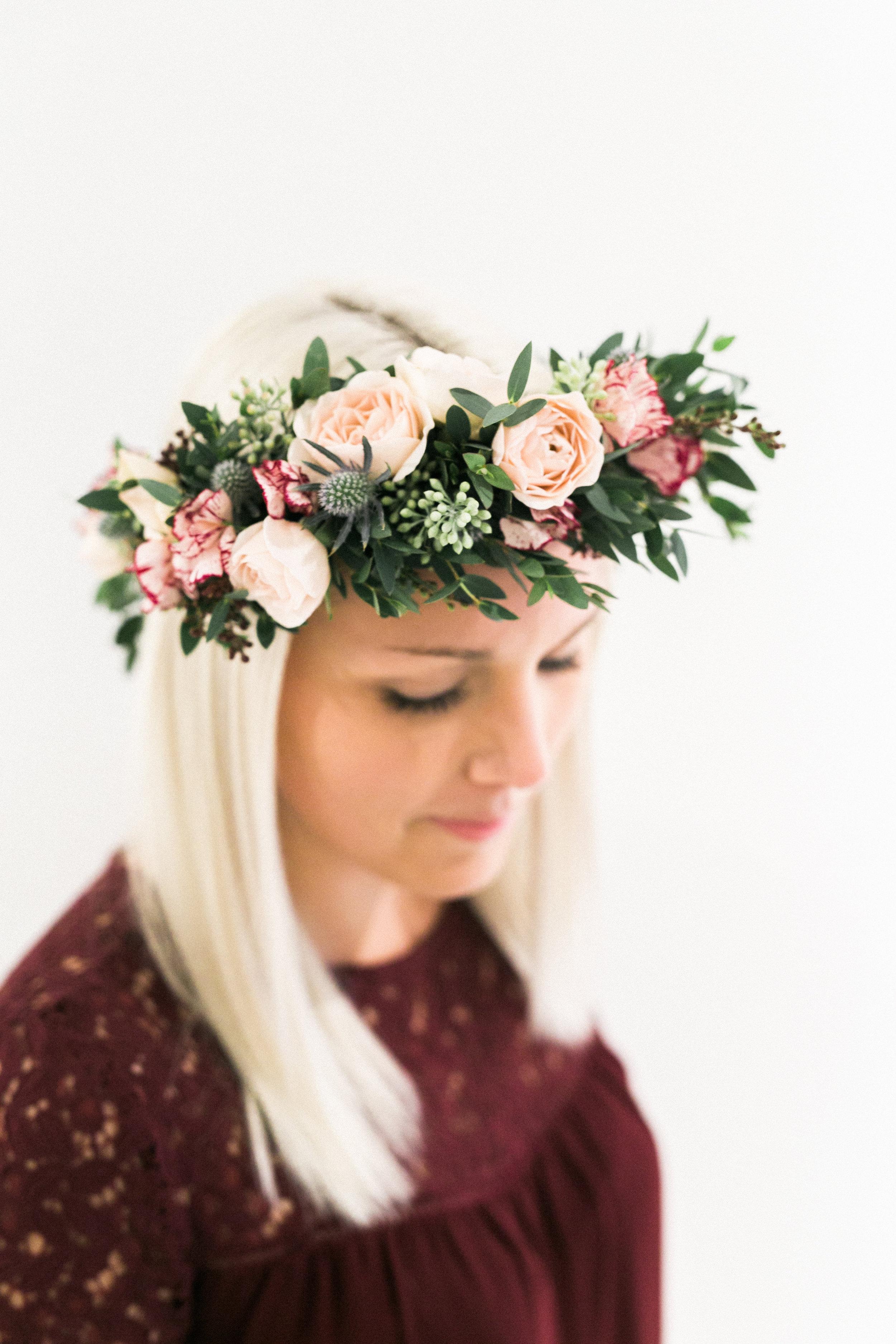Kelowna Wedding Flower Crown
