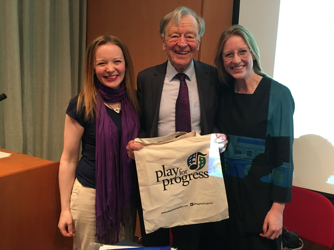 Panel with Alf Dubs