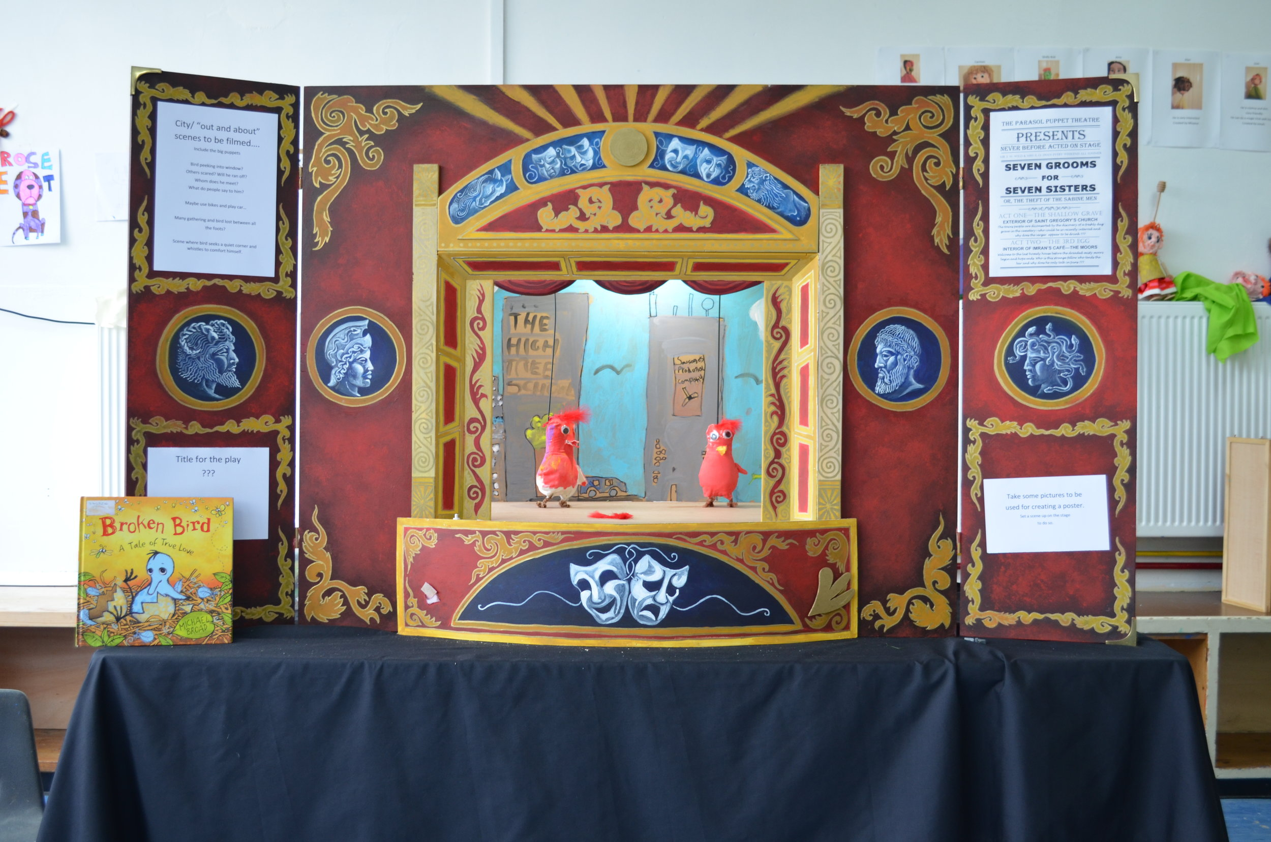 Puppet Theatre and Project Complete!.JPG