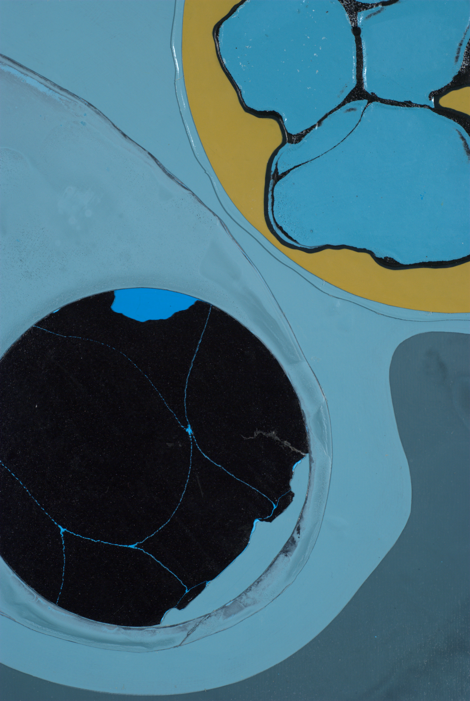 Detail of Untitled (phosphorescent film)