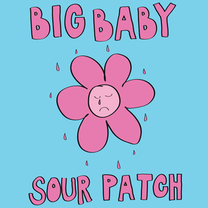 Big Baby - EHR023 sour patch ep / july 4th 2017cassette (ruby red shell) #200BUY