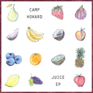 Camp Howard - EHR022 Juice ep / may 12th 2017cassette (white shell)/#300 cd #200BUY