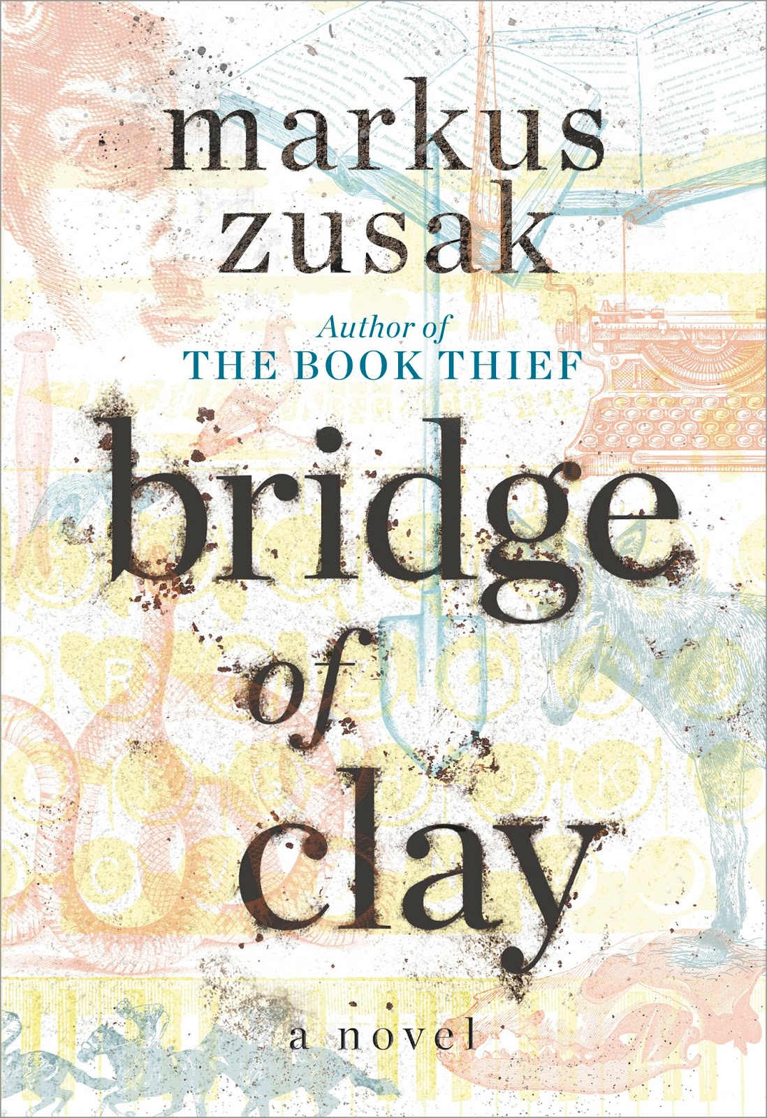 Bridge of Clay. Cover Art by Ericka O'Rourke