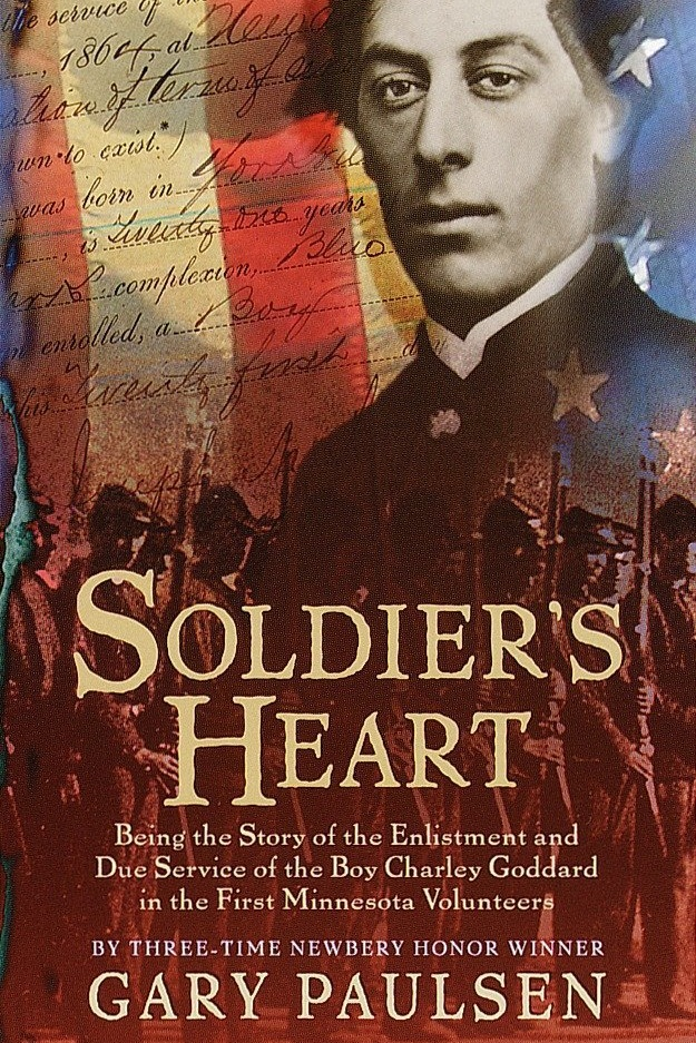 Soldier's Heart. Cover Art by Ericka O'Rourke