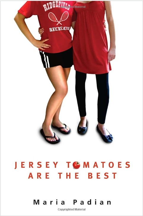 Jersey Tomatoes are the Best. Cover Art by Ericka O'Rourke