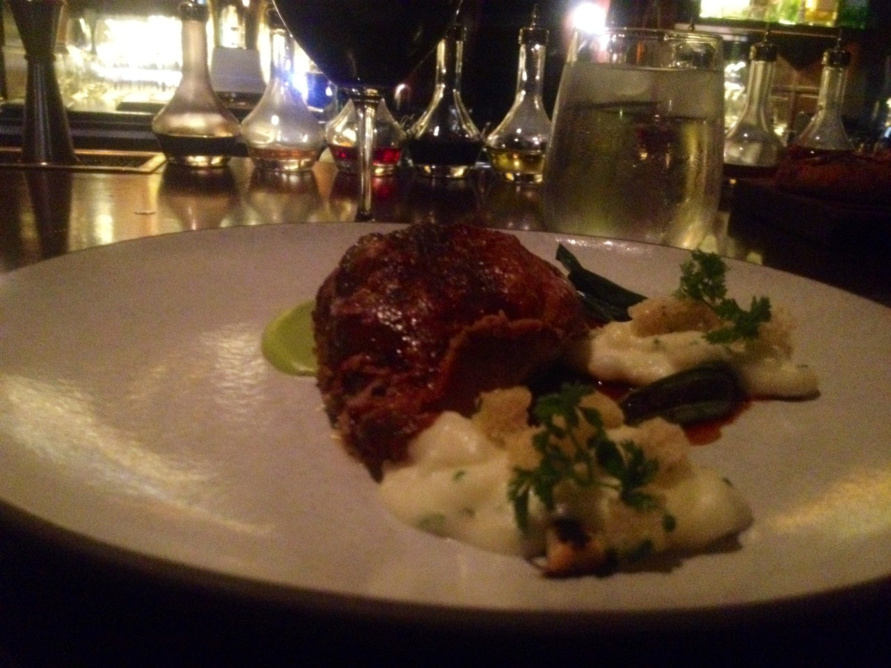 Roasted chicken for two at  Nomad . Amazing! Transcendent!