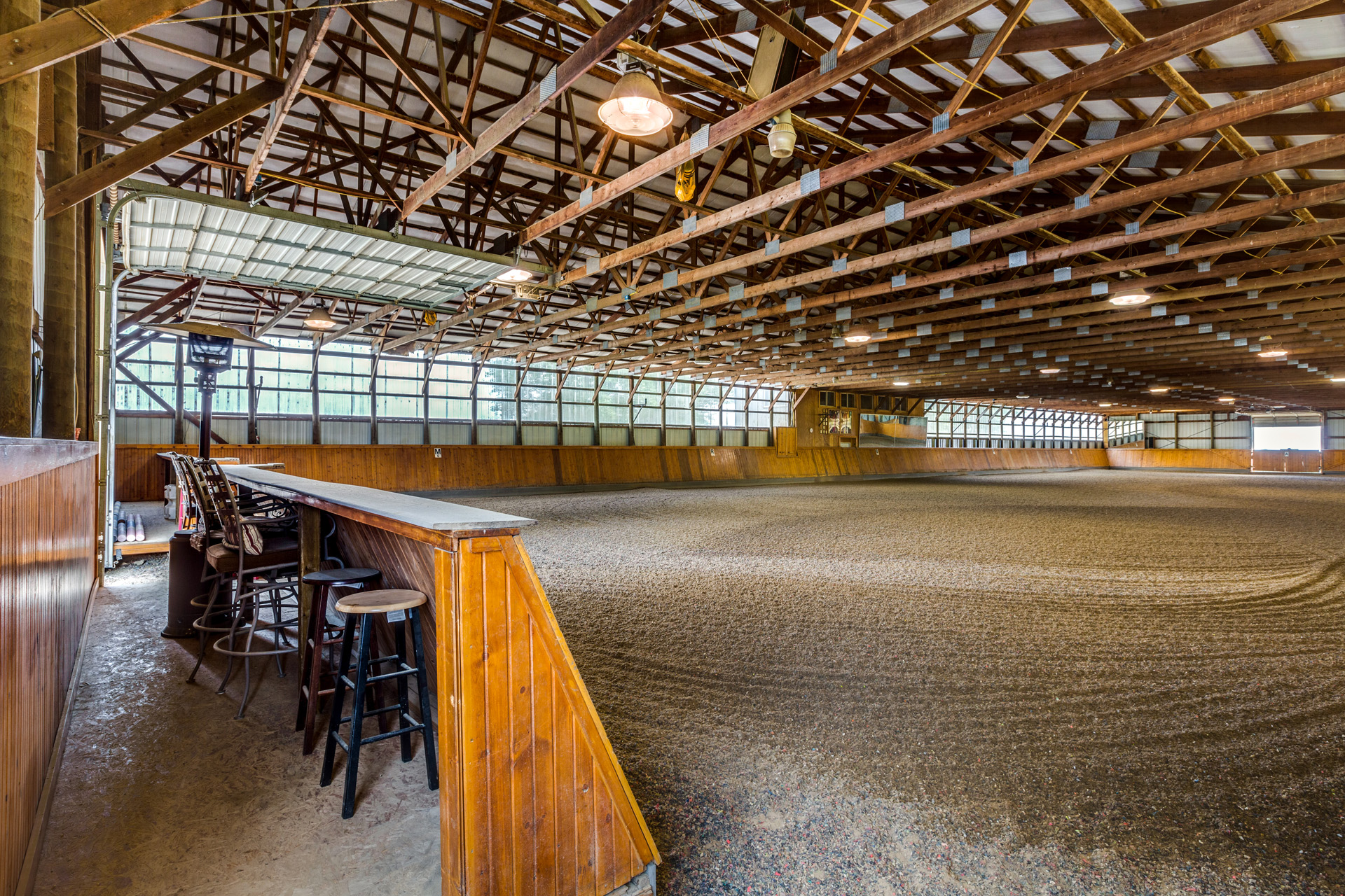 INDOOR ARENA SEATING