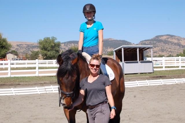 Hallie with client.jpg