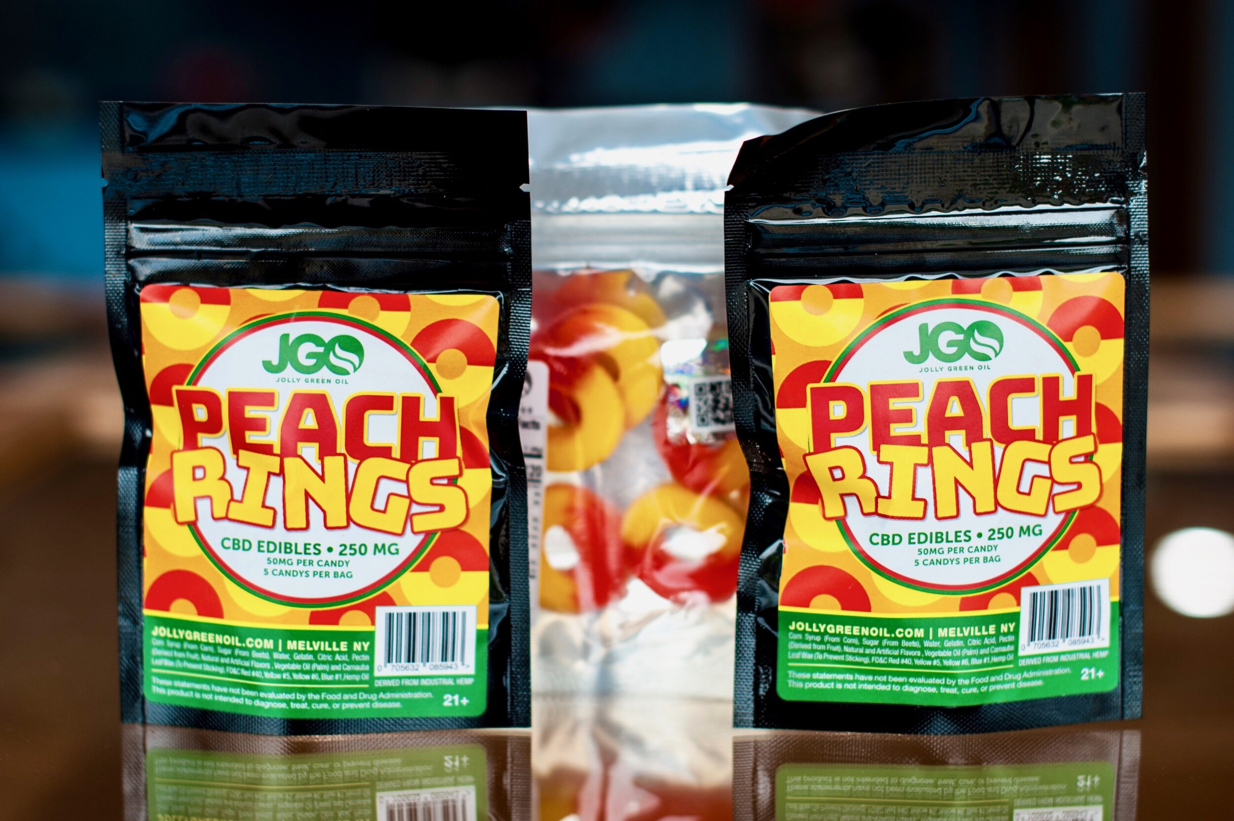 CBD Peach Rings 250 MG