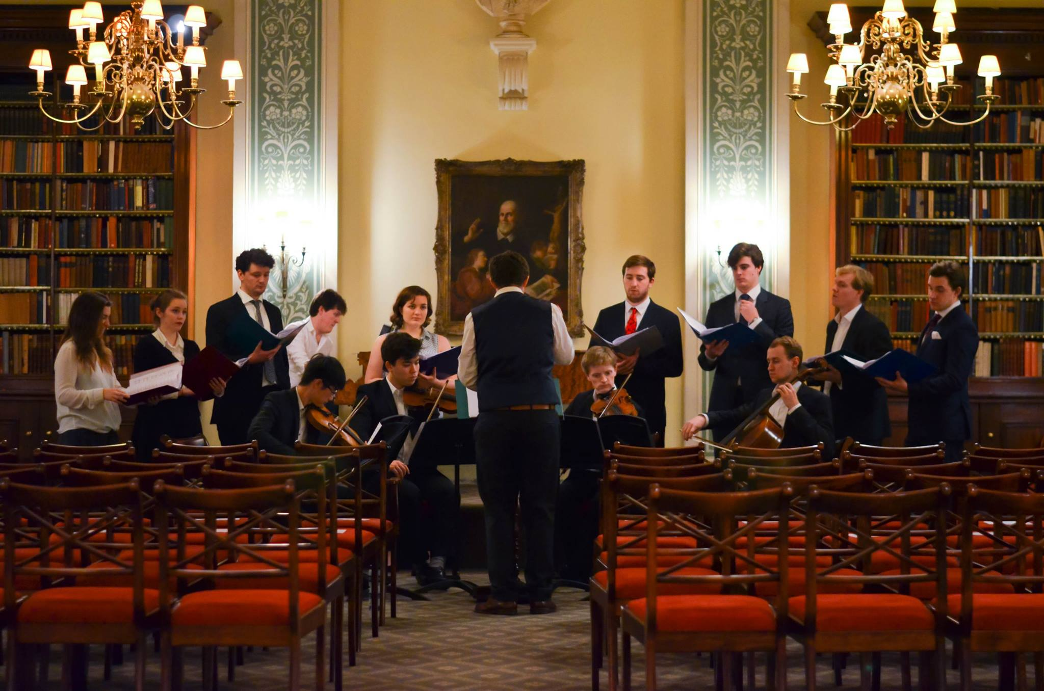 Cantatas in St Wilfrid's Hall, December 2016