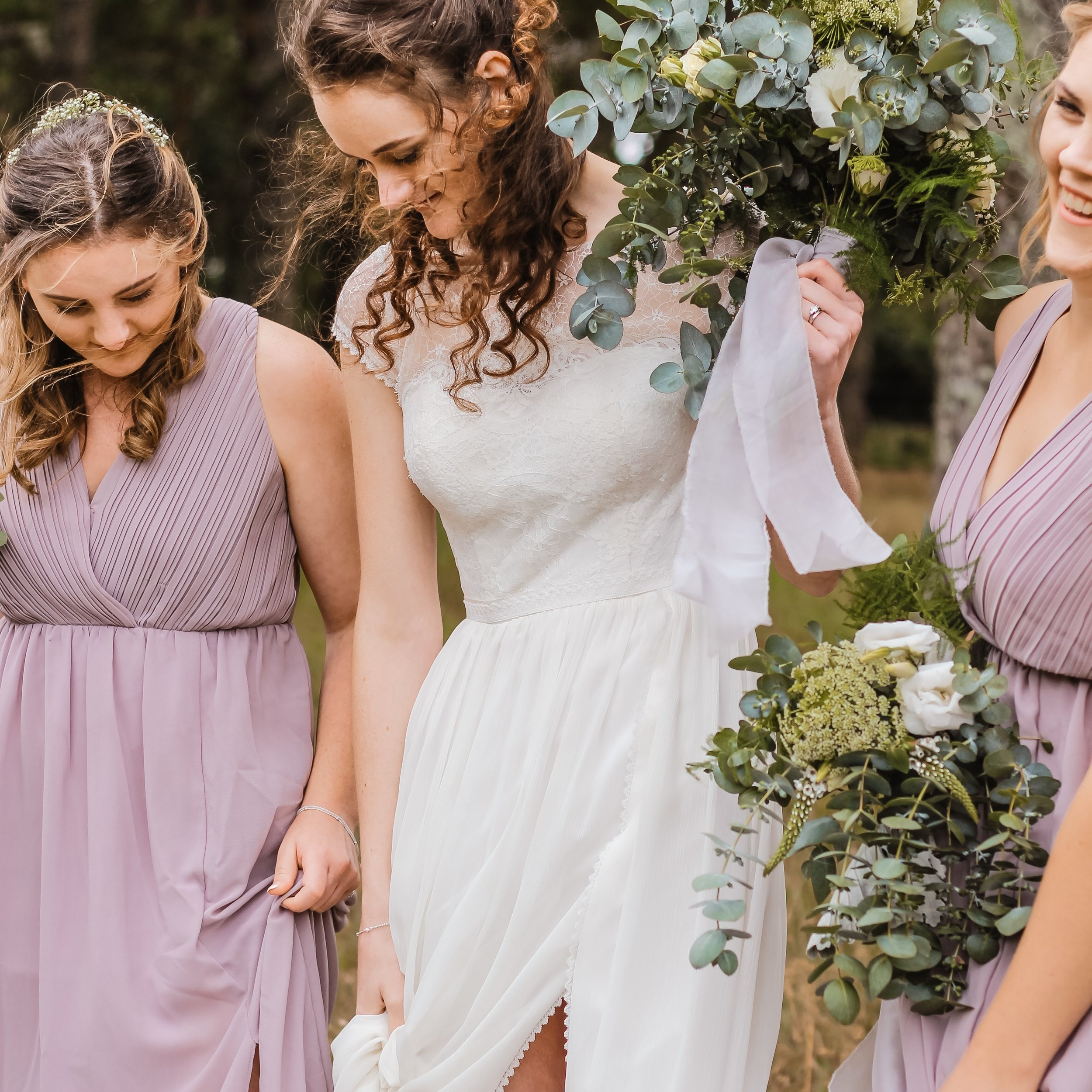 DRESS SHOPPING - For the perfect day, you'll need the perfect gown! We'll accompany you to every appointment and even help choose your accessories!