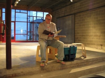 Anthony Connolly reading at the debut in 2007