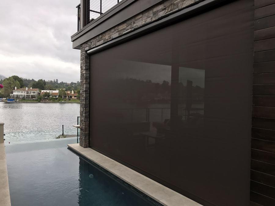 Retractable Solar Shade Screen