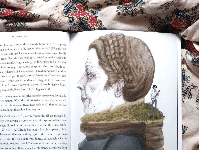 Little Book of Maudism with illustration from artist  Eunice San Miguel .
