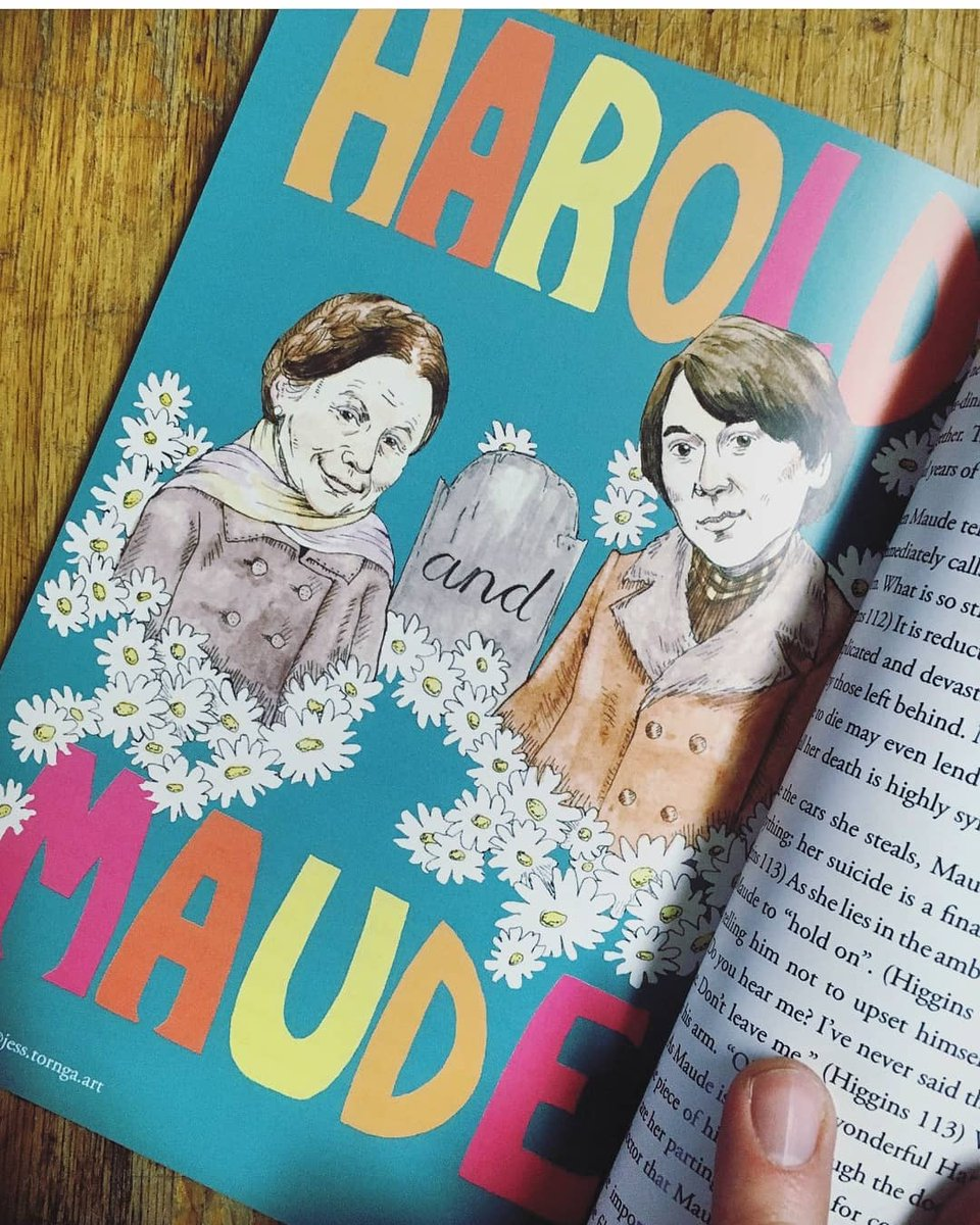 Little Book of Maudism with Illustration from artist Jess Tonga.