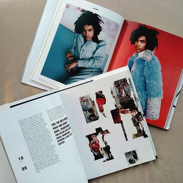 Words by me, collage by #rebeccawebb for @idolmagazine #foreveryoung 10th anniversary issue. #youthtimeline #youth #lukasabbat #culture #history #1980s #sneakpeak. Fashion story shot by #hannahsider, styling by #ryandavis. Grab a copy on idolmag.co.uk 👍👌