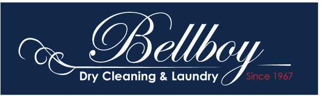 logo redesign - Bellboy | An assignment in logo design and creating a brand guide. This is an experimental redesign of the logo for a local laundry service, Bellboy Dry Cleaning & Laundry.