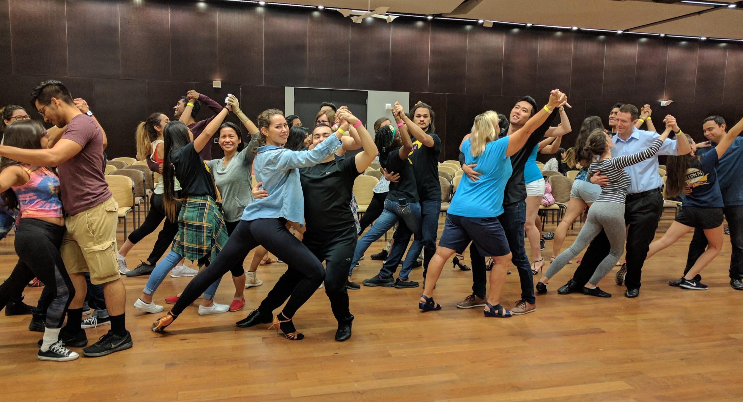ASU Latin Sol Festival Tango Workshop