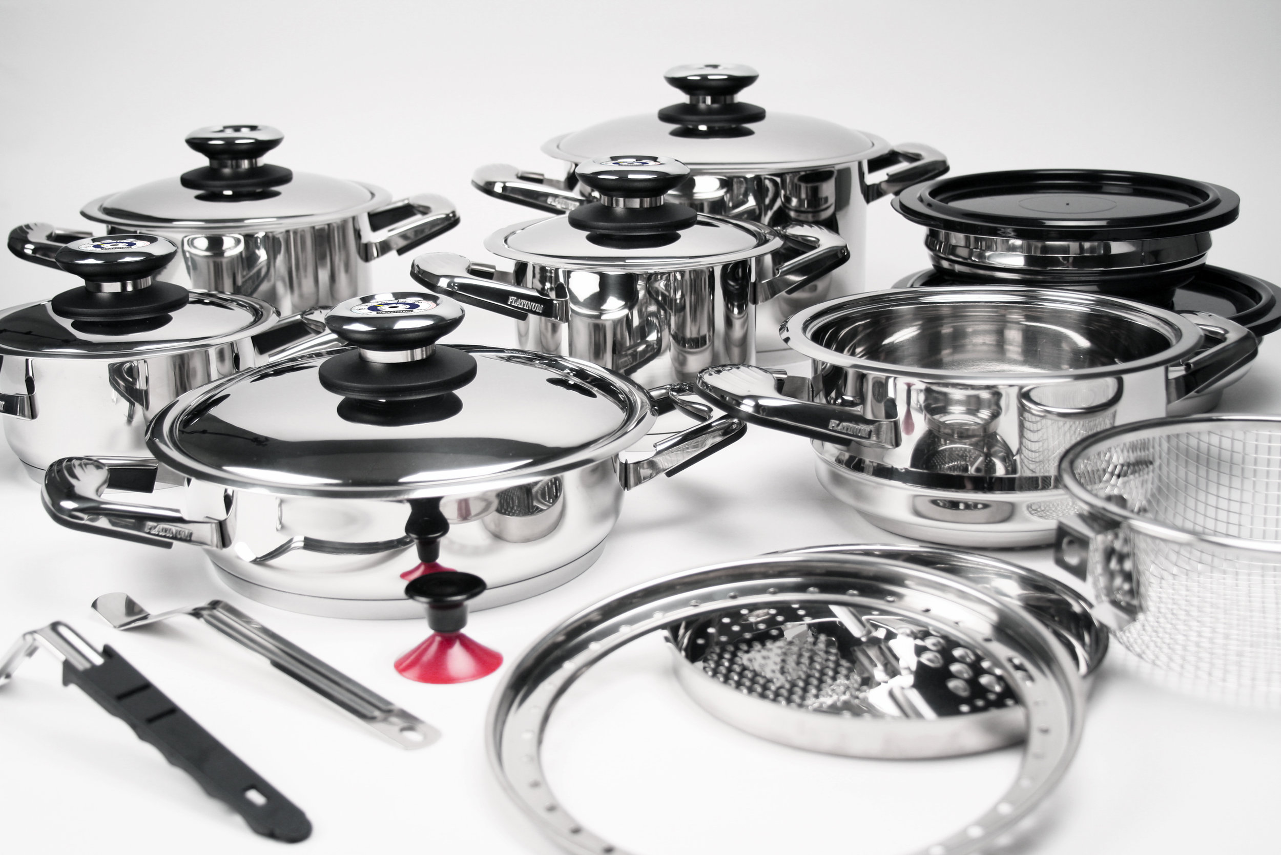 Life-changing waterless cooking - Professional Platinum Cookware will not only change the way you cook, but it will change your life! Waterless cooking in a sealed environment creates a wide range of meals while keeping almost all of the nutrients that are lost through boiling or steam. Your meals won't just taste better, they'll be healthier also! Our Story