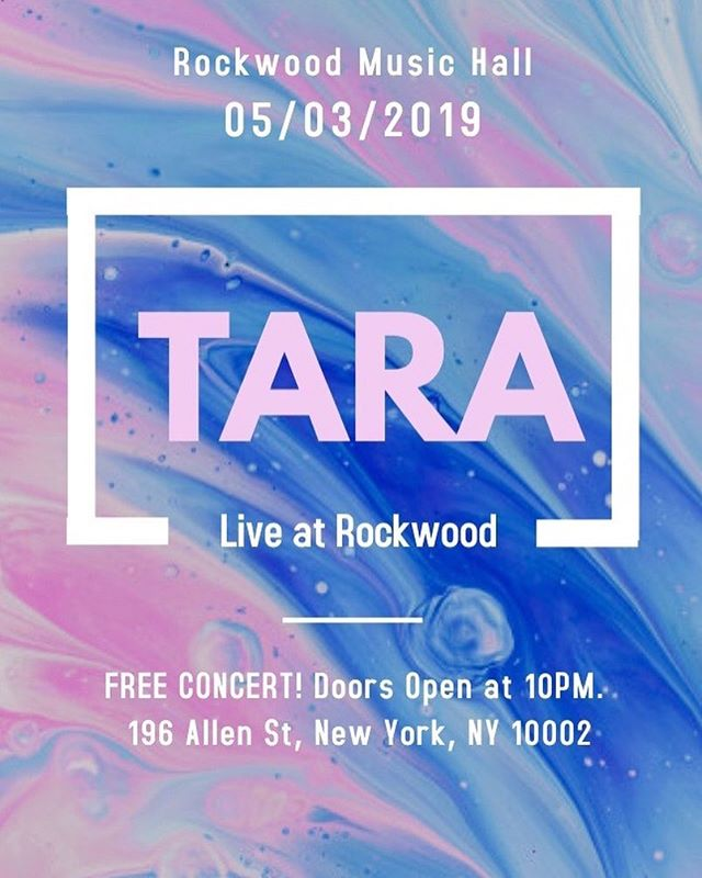 Pretty excited to announce that we will be having our first show after almost a year off! If you're in the New York area, come catch us at Rockwood Music Hall this Friday May 3rd for a free concert!  We'll be playing on stage 1. We recommend arriving at 10PM if you want to catch us.  #indierock #rockwoodmusichall #firstshow #livemusic #livemusicnyc #shoegaze #dreampop #indieliveshow #freeconcert #rockshow #brooklynindie #newyorkmusic #supportyourfriends