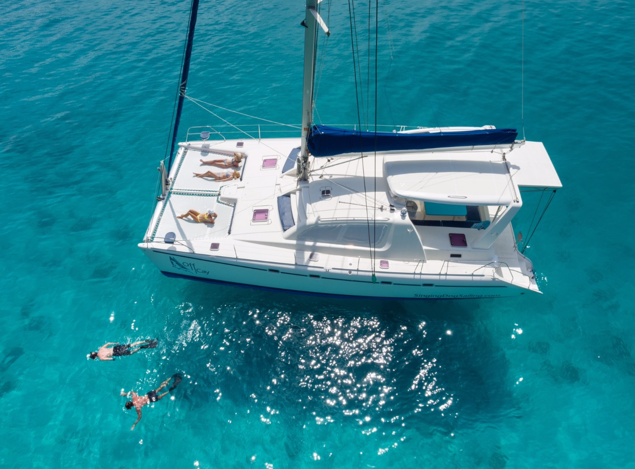 Luxury Catamaran 'OFF CAY'