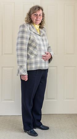 Jacket, Blouse and Slacks by Dollie Gansz