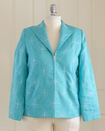 Jacket by Dollie Gansz