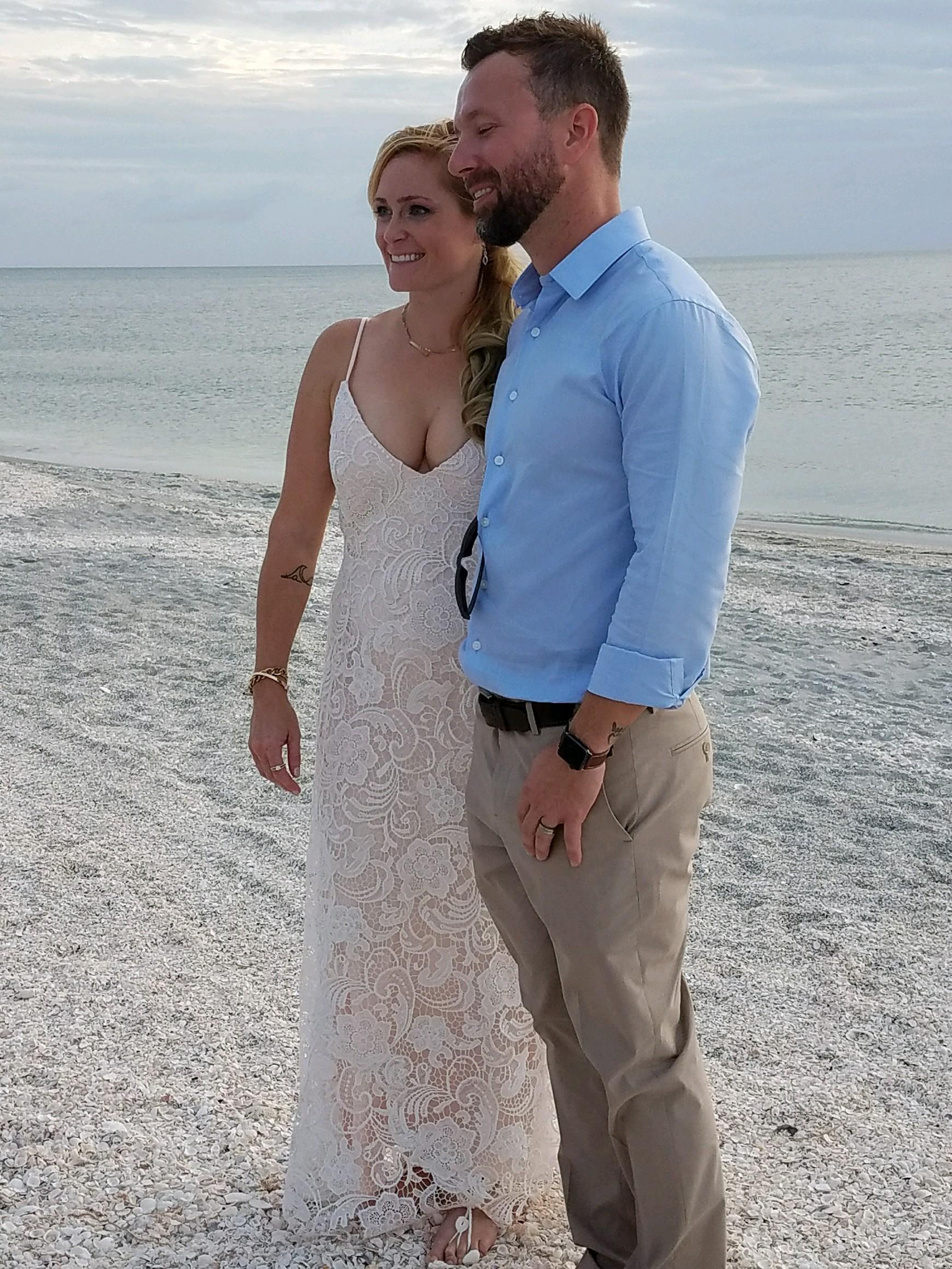 Wedding dress by Gretchen Weaver