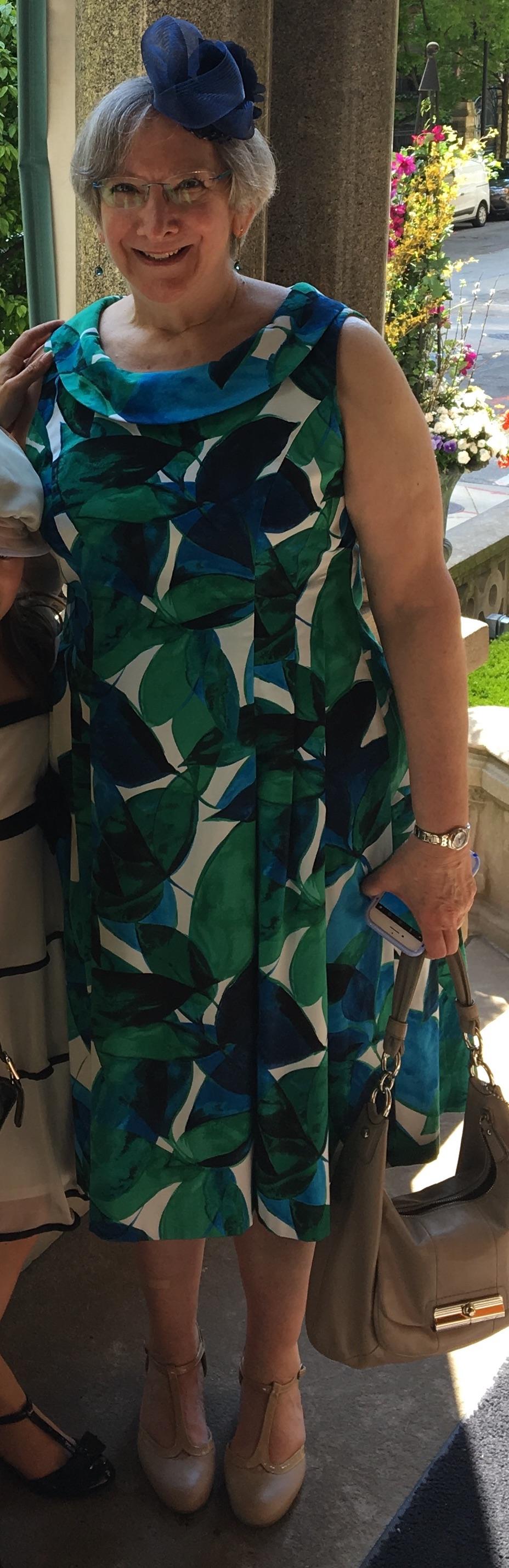 Leaf dress by Wendy Grossman