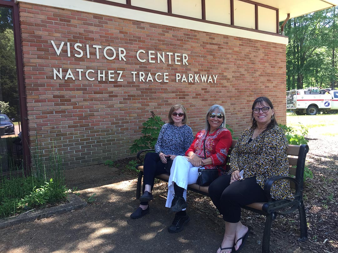While on our Homeland tour in Mississippi, we traveled along the Natchez Trace - a pathway originally created by our ancestors for trade travel.