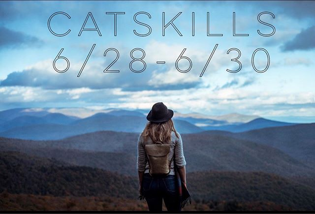 Escape the city for the weekend and join us in the Catskills.  Meet like minded people, explore your inner self, eat amazing food, do some yoga, go for a hike, visit Woodstock! There is so much more ..... Spots are filling up. Have questions ? Send us a message and we will be happy to help. 🙏🏻