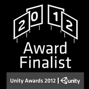 Unity Unite Awards 2012  Finalist: Best Technical Achievement Finalist: Best Student Project