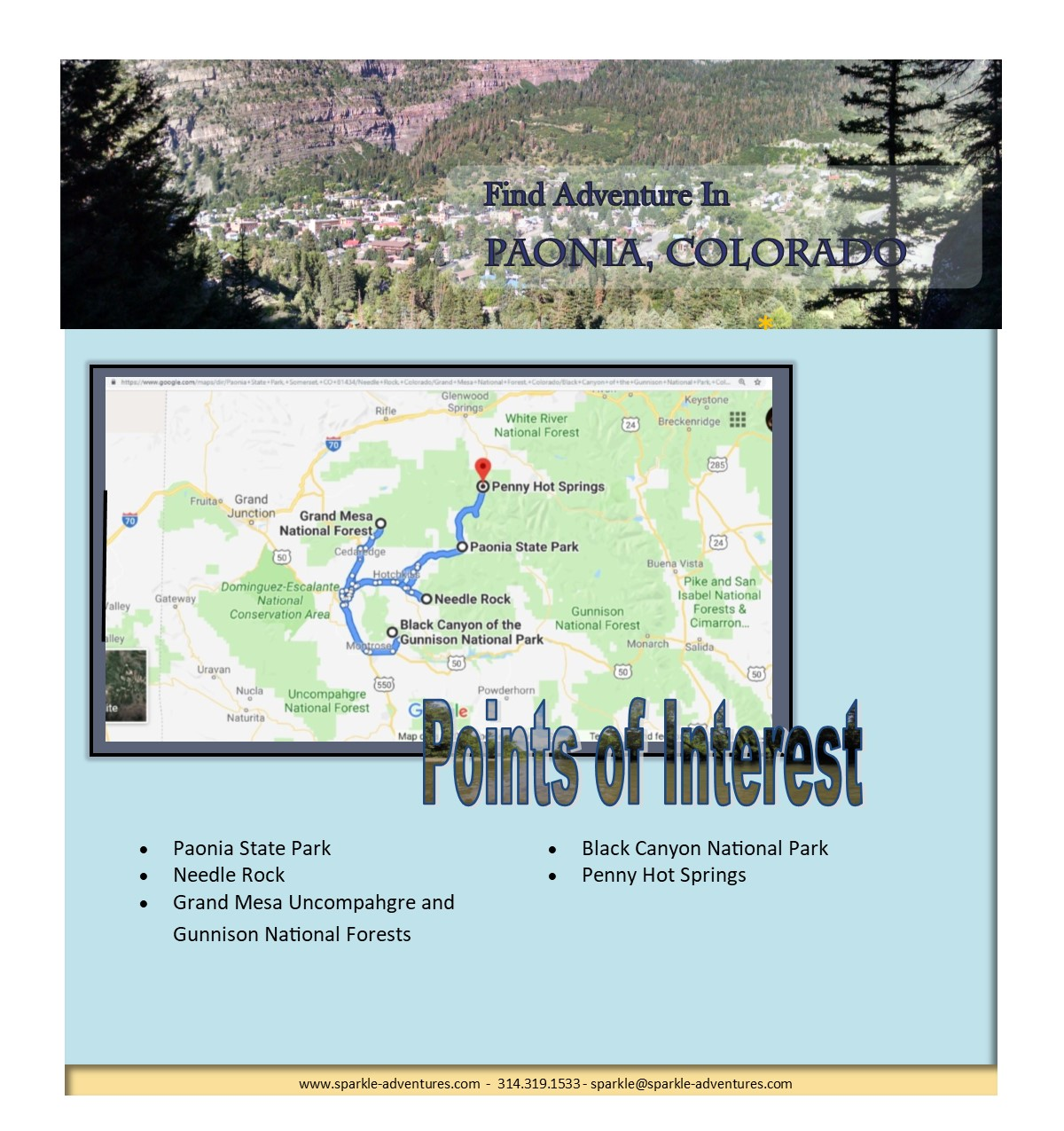 Find Adventure In Paonia, Colorado - Sparkle Adventures
