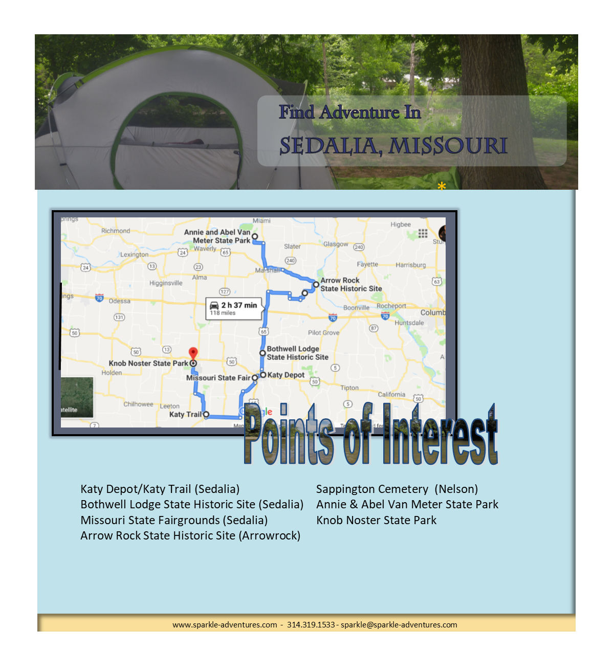 Find Adventure In Sedalia, Missouri