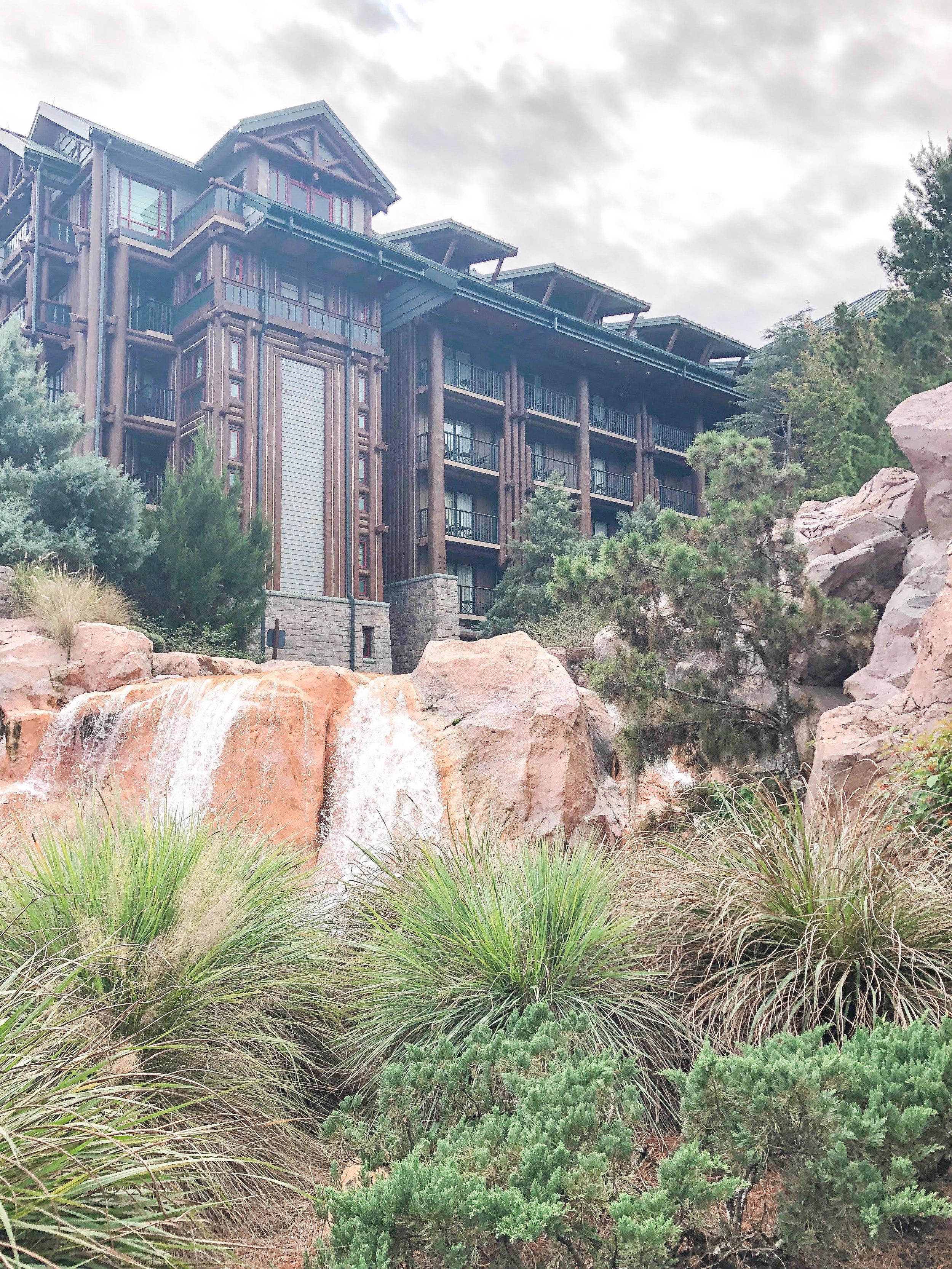My all time favorite Disney Deluxe resort:  Disney's Wilderness Lodge !