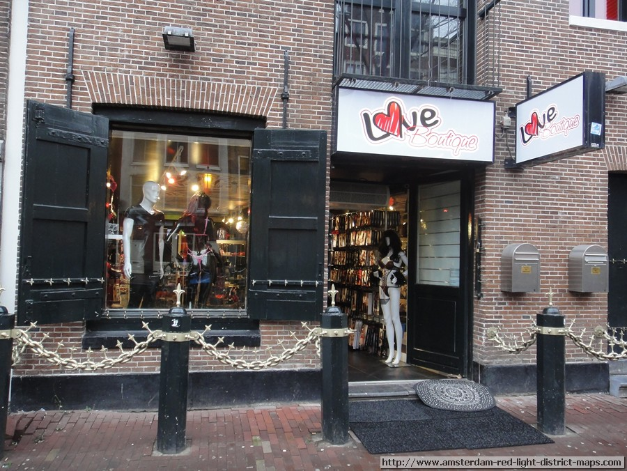 LOVE BOUTIQUE    Adres   :  Oudezijds Achterburgwal 78 HS, 1012 DR Amsterdam    Telefoon   :  020 639 1095    Provincie   :   Noord-Holland