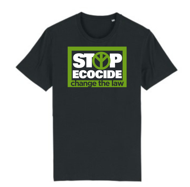 Stop ecocide - Black t-shirt£15