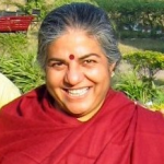 "Vandana Shiva - Author, physicist, environmental activist and food sovereignty advocate, 1991 founder of Navdanya, a national movement to protect the diversity and integrity of living resources""The Ecocide trial is a very important step in waking us up to the violence which is the foundation of the current economy. The ideal of limitless growth is leading to limitless violations of the rights of the Earth and of the rights of nature. This is ecocide."""