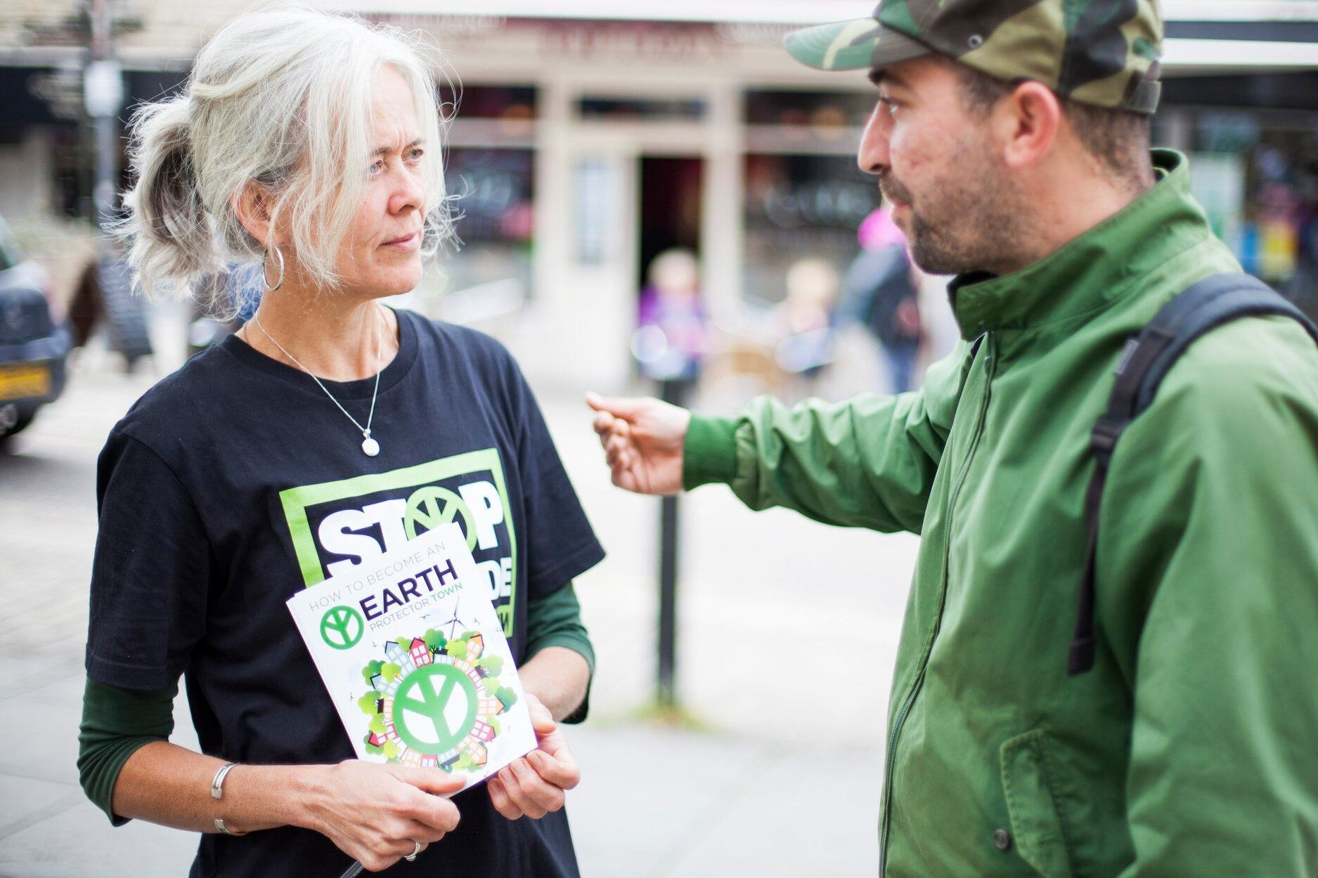 hOW YOU CAN HELp? - By distributing flyers and placards, running an information stall at festivals or events, giving a talk, organising an awareness or fundraising event, helping set up an Earth Protector Town or contributing time or skills such as translation, creative, educational etc