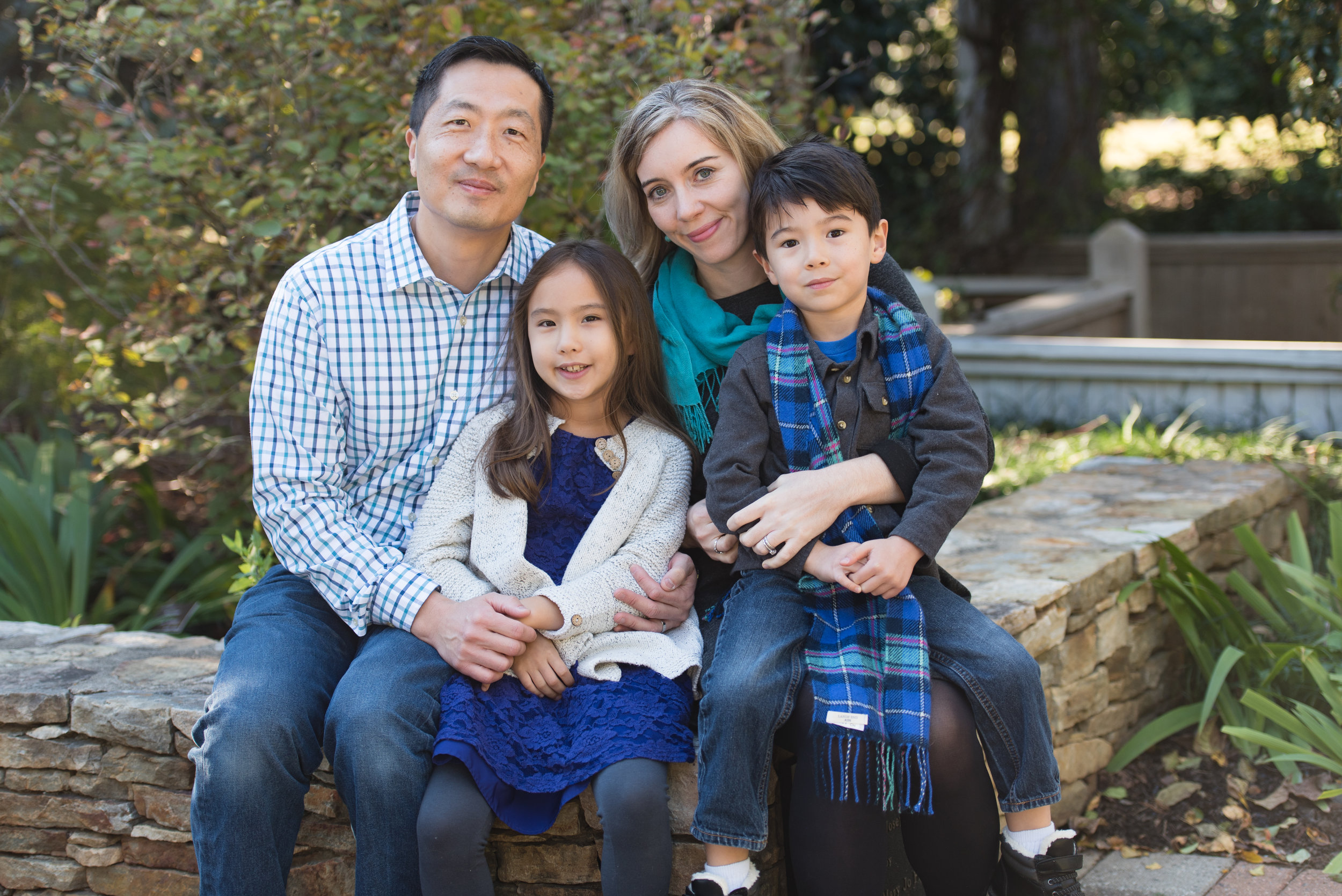 Many families choose me to photograph their families year after year.