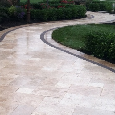 NATURAL STONE - Natural colors and textures can elevate an outdoor living space by bringing a closer connection with the natural world.