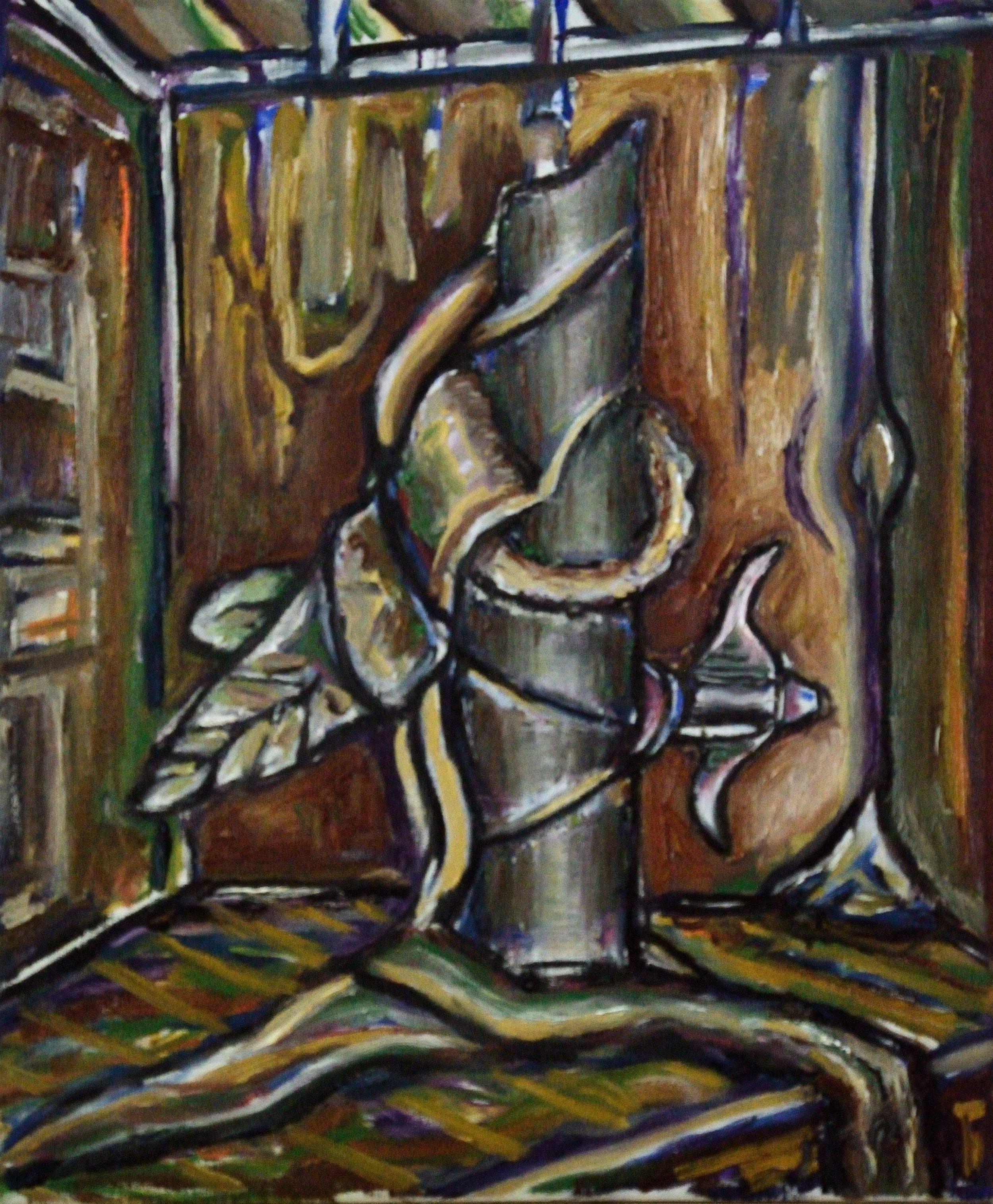 MDPCC, 60x50cm, oil on canvas