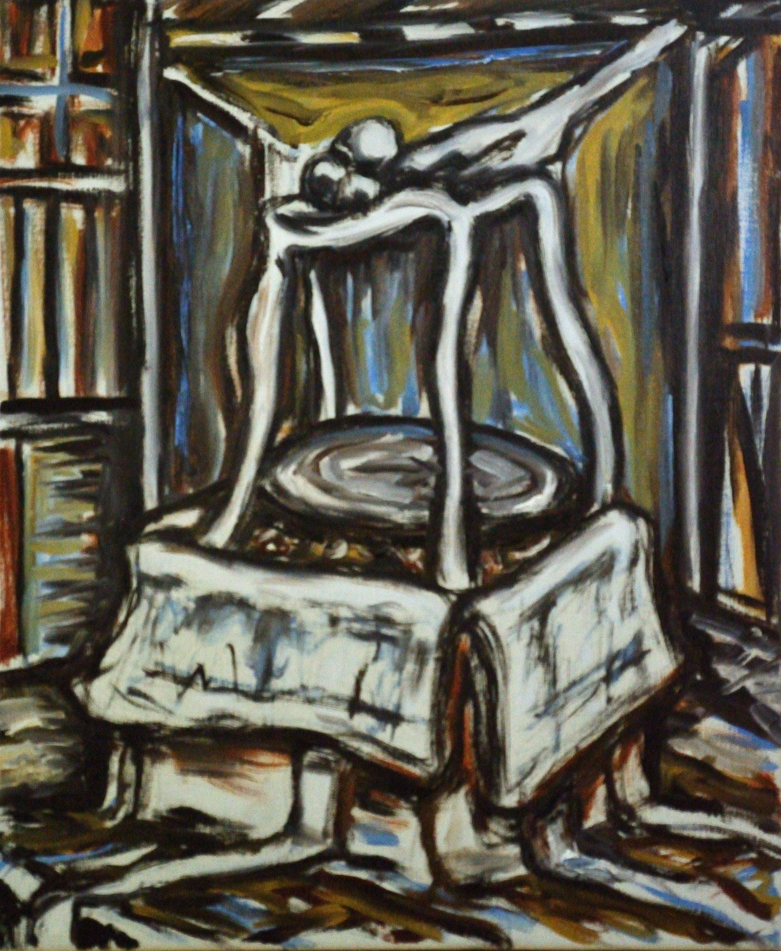 MDPCD, 60x50cm, oil on canvas