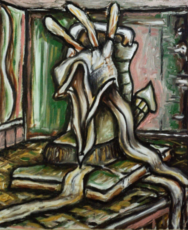 MDPCJ, 60x50cm, oil on canvas