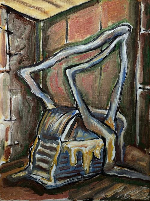 MDPCM, 40x30cm, oil on canvas