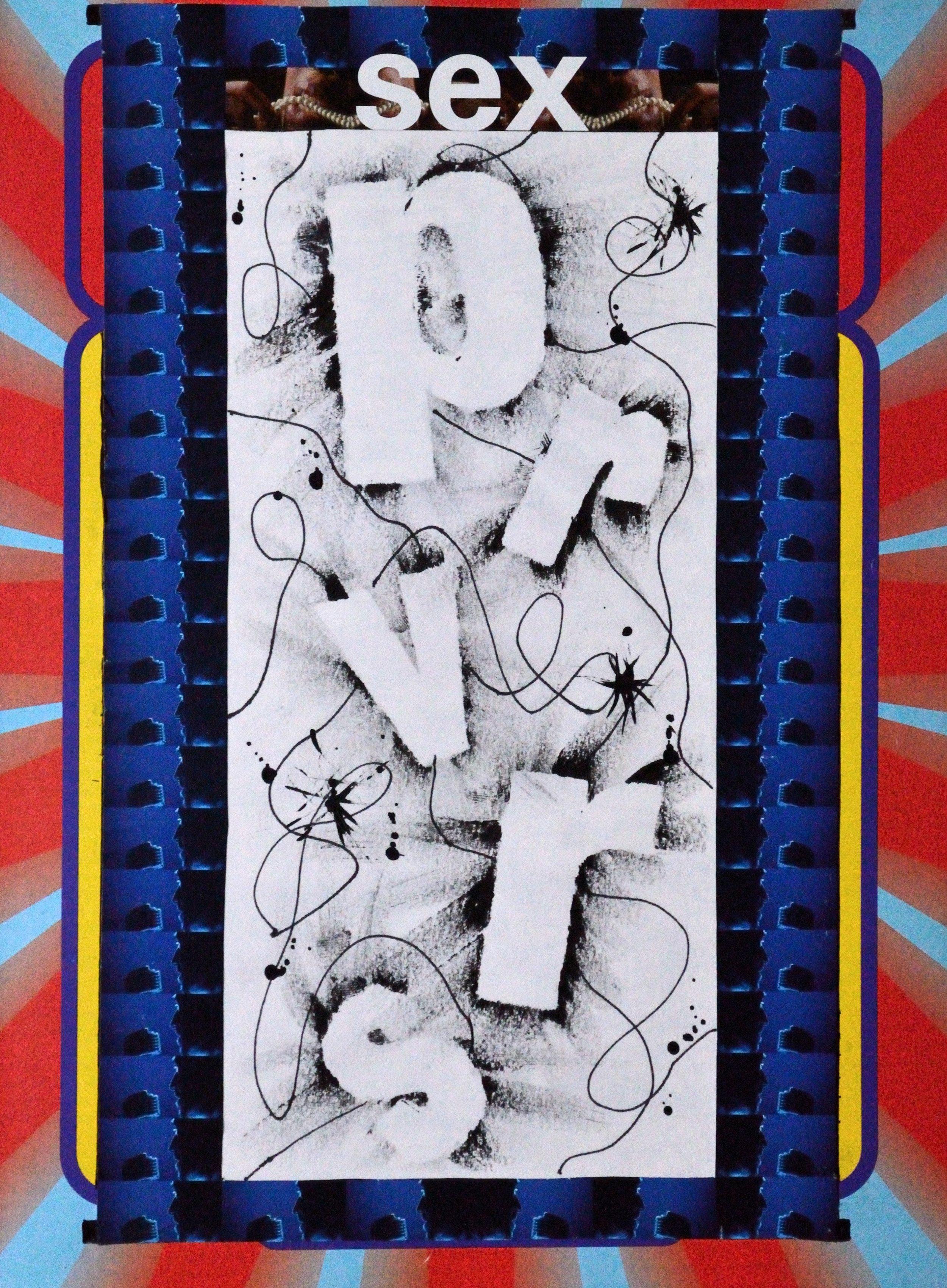 't Wonderboeck 12, 30x21cm, mixed media on paper