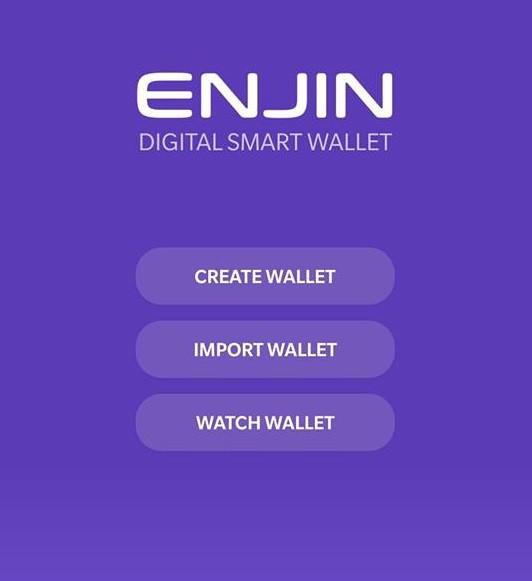 enjin wallet guide