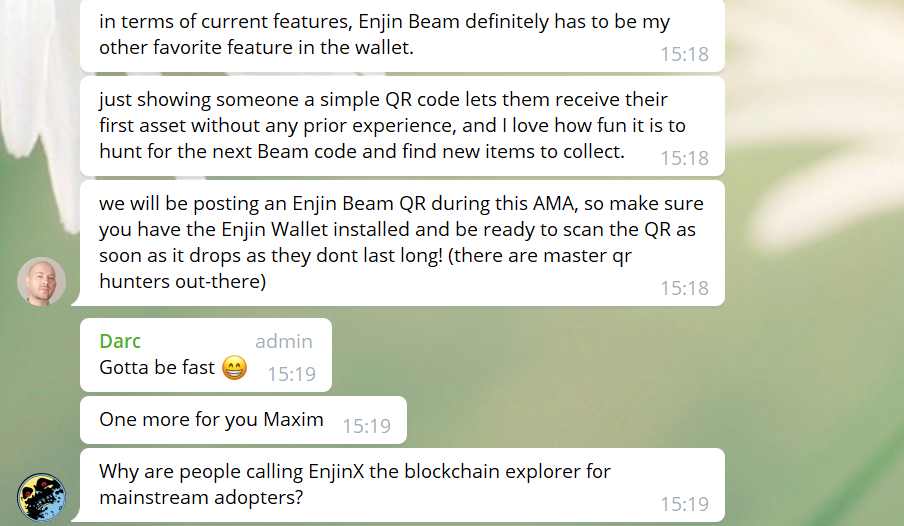 enjin founder interview and AMA